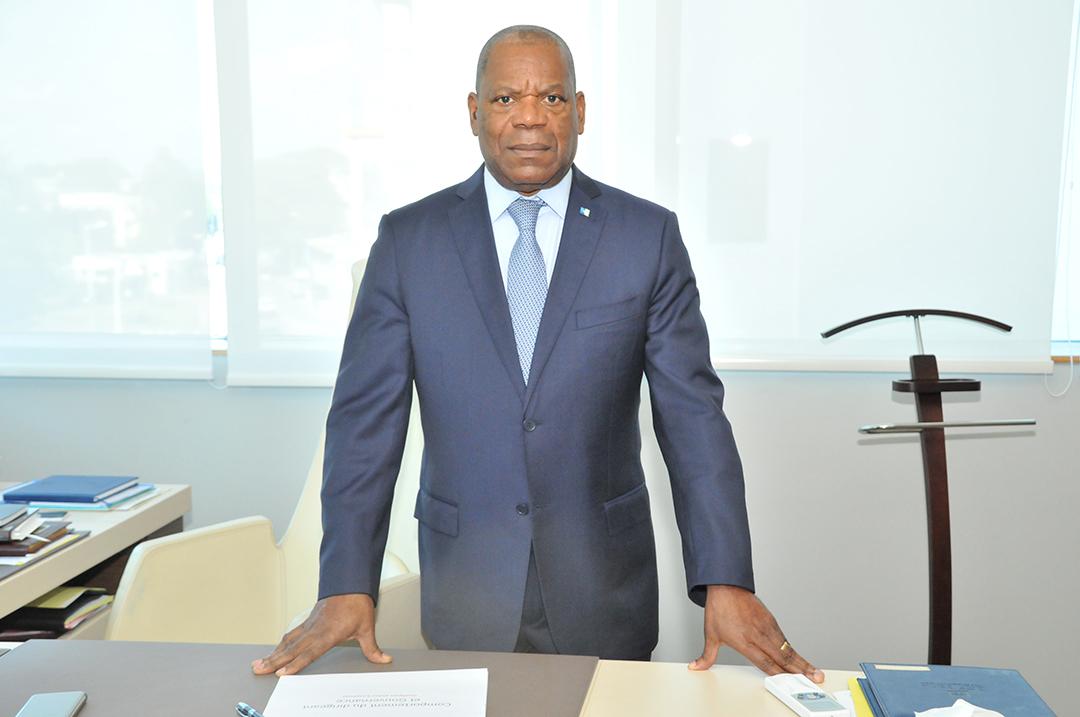 Narcisse Obiang, responsable de la « zone CEEAC » de BGFI.