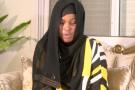 Capture d'écran de l'entretien d'Adji Sarr diffusé par la chaîne ITV Sénégal.