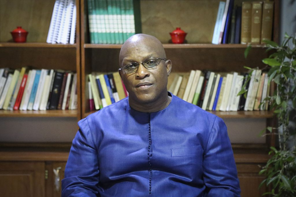 Kiridi Bangoura, le secrétaire général et porte-parole de la présidence.
