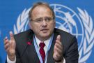 Christof Heyns au siège européen de l'ONU, à Genève, en 2011