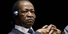 L'ancien président burkinabè Blaise Compaoré à Milan, en 2012.