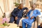 Ali Bongo Ondimba et Fidel Andjoua Ondimba.