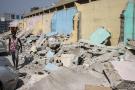 Les boutiques sans permis de construction ont été démolies au Marché Niger de Conakry. Photo d'illustration.