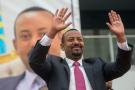 Le Premier ministre éthiopien Abiy Ahmed le 31 octobre 2019.