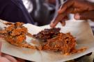 Le kilichi, à base de viande séchée, est une spécialité culinaire haoussa.