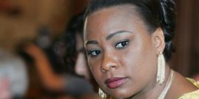 Olive Lembe Di Sita Kabila, épouse de Joseph Kabila, le 27 septembre 2007.