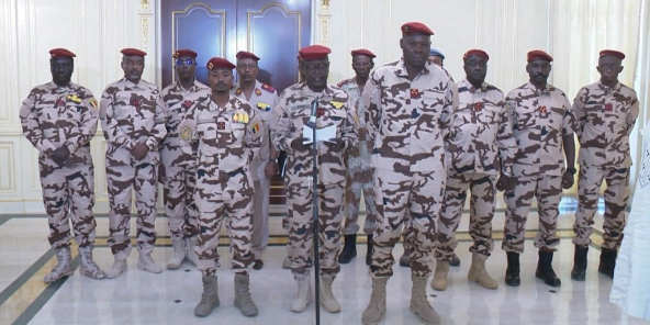 Le Conseil militaire de transition.