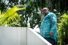 Jean-Pierre Bemba, à Kinshasa le 21 avril 2021.
