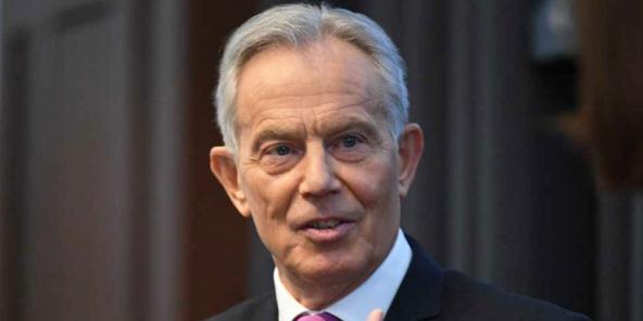 Tont Blair en avril 2021, à Londres