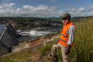 La Guinée va recevoir la majeure partie de l'enveloppe, soit 300 millions d'euros. Ici, le barrage de Souapiti, d'une capacité de 450 MW.