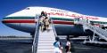 Embarquement à bord d'un Boeing 747 de la Royal Air Maroc, à Marrakech.