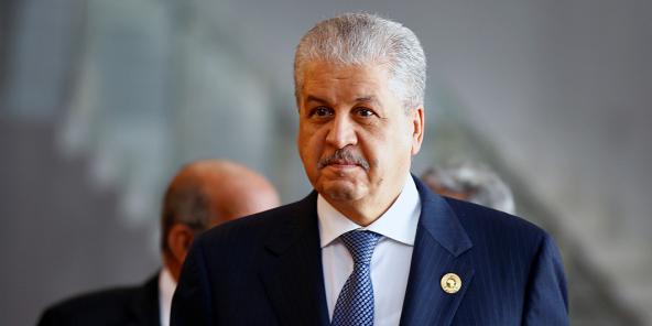 Abdelmalek Sellal, en janvier 2017.