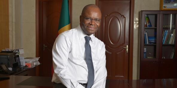 Le ministre béninois des Affaires étrangères, Aurélien Agbénonci, le 12 mai à Cotonou.
