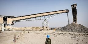 Mine de cuivre de Chambishi (NFCA), en Zambie.