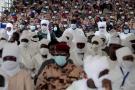 Obsèques du président tchadien Idriss Déby Itno à N'Djamena, le 23 avril 2021