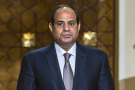 Le président égyptien Al-Sissi au palais présidentiel du Caire, en 2015
