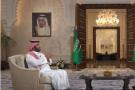 Le prince héritier saoudien Mohammed Ben Salman interviewé par Al Arabiya le 26 avril 2020.