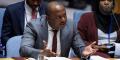 Albert Shingiro, ministre des Affaires étrangères burundais, alors représentant permanent du Burundi auprès de l'Organisation des Nations unies.