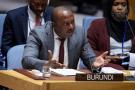 Albert Shingiro, représentant permanent du Burundi auprès de l'Organisation des Nations unies.