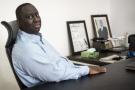 Aliou Sall, le frère du président sénégalais, dans son bureau en mai 2018.