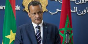 Le ministre mauritanien des Affaires étrangères, Ismail Ould Cheikh Ahmed, à Rabat, au Maroc, le 20 septembre 2018.