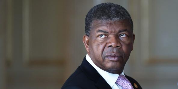 Le president angolais, João Lourenço lors d'une séance plénière de la Douma, à Moscou, le 3 avril 2019.