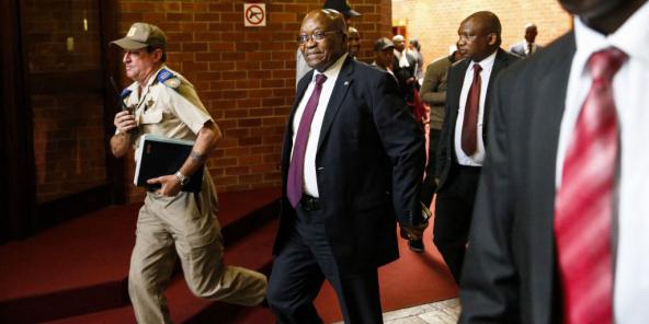 L'ancien président sud-africain Jacob Zuma, le 15 octobre 2019.