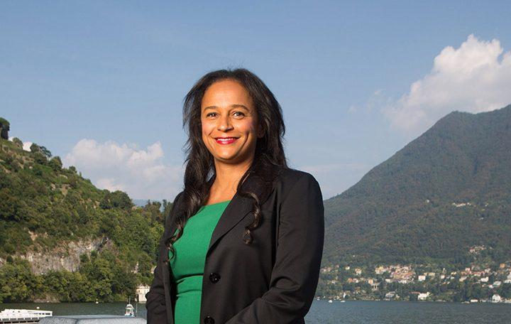 Isabel dos Santos en Italie, le 3 septembre 2016.
