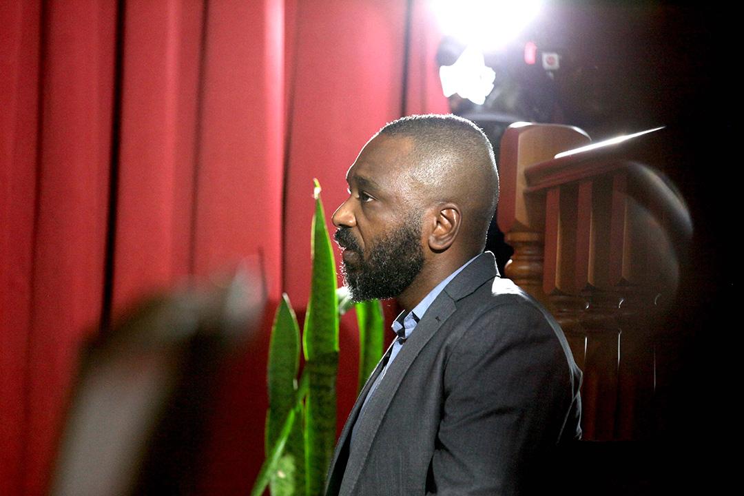 José Filomeno dos Santos devant la Haute cour de Luanda, le 9 décembre 2019.