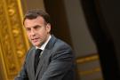Emmanuel Macron, le 1er mai 2021.