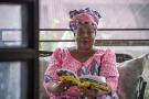 Léonnie Kandolo, à Kinshasa, le 3 mai 2021