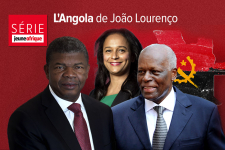 Joao Lourenco, Isabel Dos Santos et Jose Eduardo Dos Santos.