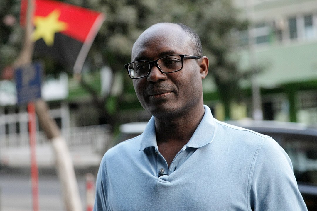Le journaliste angolais Rafael Marques, en août 2017