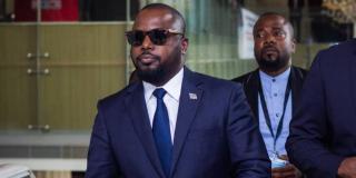 Zoé Kabila, le frère de l'ancien chef de l'État congolais Joseph Kabila, à Kinshasa en août 2019