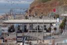 Un poste frontière entre l'Espagne et le Maroc dans l'enclave nord-africaine espagnole de Ceuta, en Espagne, le 13 mars 2020.
