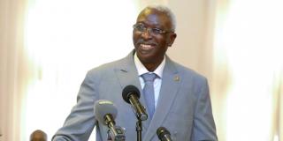 Le président Bah N'Daw reçoit en audience, le jeudi 6 mai au Palais de Koulouba, une délégation du M5-RFP.