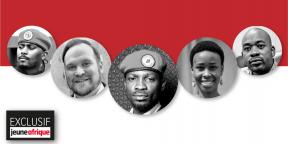 Bobi Wine et ses fidèles.