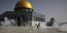 L'esplanade des Mosquées est le théâtre d'affrontements entre Palestiniens et policiers israéliens depuis le 7 mai 2021.