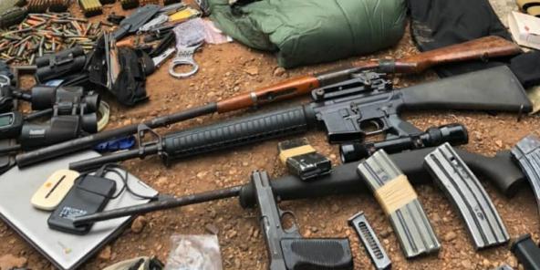Le Français Juan Rémy Quignolot a été arrêté à Bangui le 10 mai 2021, en possession de nombreuses armes et munitions.