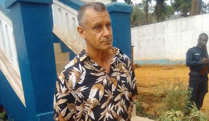Juan Rémy Quignolot, le Français arrêté à Bangui le 10 mai dernier;