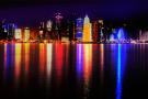 Vue de Doha, capitale du Qatar.