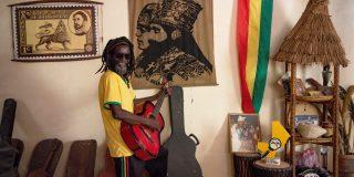 À Lassa, le 11 mai 2021, chez Ras Ballaski, l'un des derniers piliers et membre fondateur du mouvement rastafari au Mali.