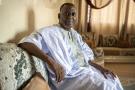Biram Dah Abeid dans son appartement de Dakar, le 7 mai 2021.