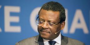 Joseph Dion Ngute, Premier ministre camerounais, à Oslo en 2017.