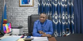 Jules Alingete Key, à Kinshasa, RDC, en octobre 2020.