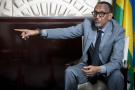 Paul Kagame, président de la République du Rwanda, à l'hôtel Peninsula, à Paris, le 18 mai 2021.