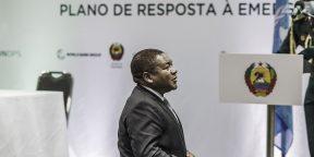 Le 28 avril 2021, à Pemba, Filipe Nyusi signe un plan d'intervention d'urgence pour la région de Cabo Delgado.