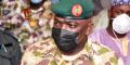 Le lieutenant général  Ibrahim Attahiru, ici en janvier 2021, a été tué vendredi 21 mai dans le crash d'un avion militaire. Une enquête a été ouverte sur les causes de l'accident.