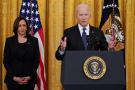 Le président américain Joe Biden et la vice-présidente Kamala Harris, le 20 mai 2021.