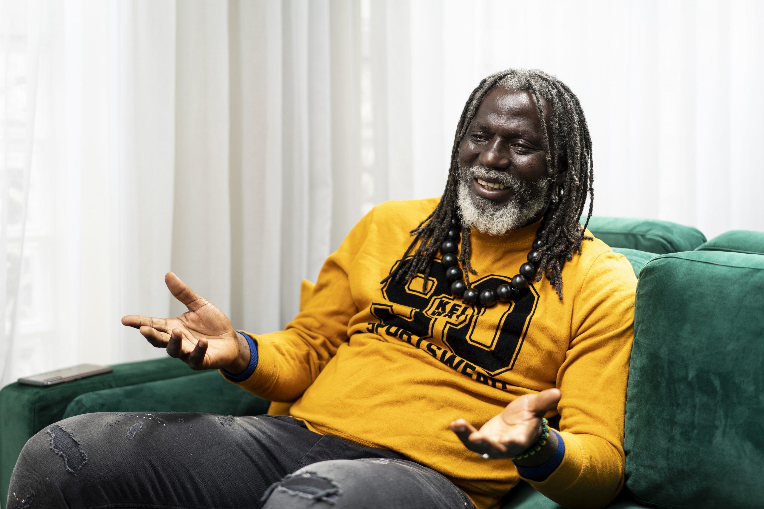 Tiken Jah Fakoly, le 3 mai 2021, lors d'un entretien avec Jeune Afrique.